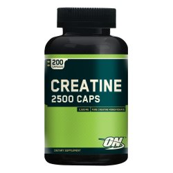 Optimum Nutrition Creatine 2500mg Capsules Bottle of 200