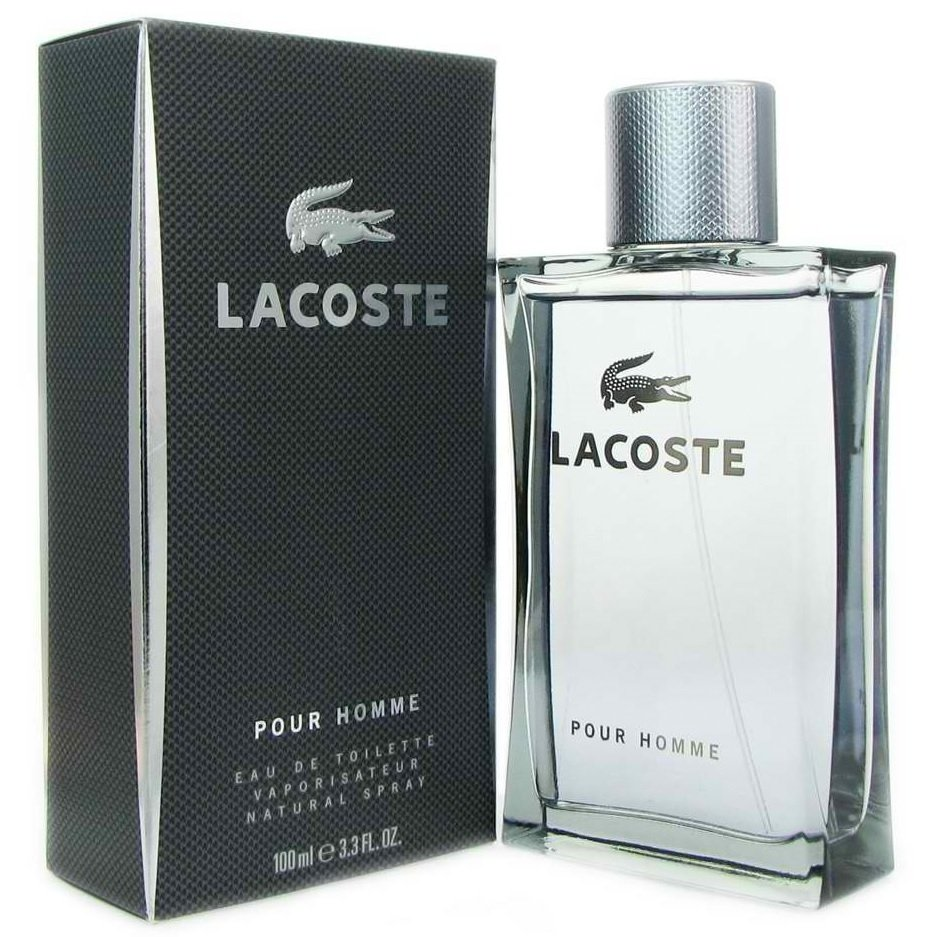 Lacoste Pour Homme Eau de Toilette for Men100ml