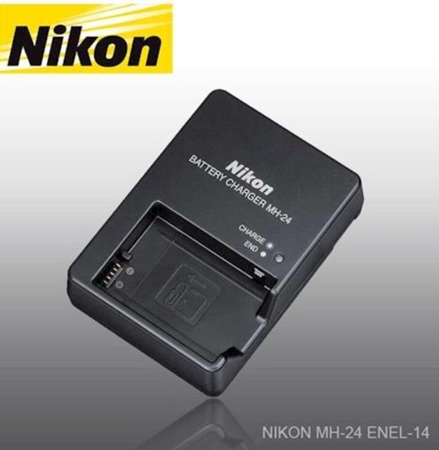 Nikon Camera Charger MH-24 For EL-14/EL-14a Battery