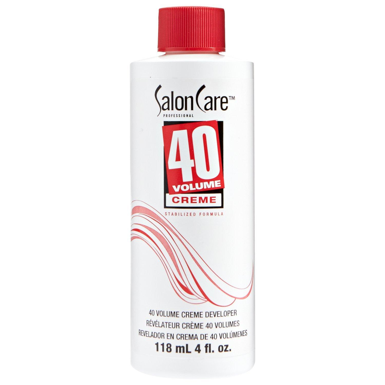 Salon Care 40 Volume Creme Developer, 4 Ounce By Galleon.ph.