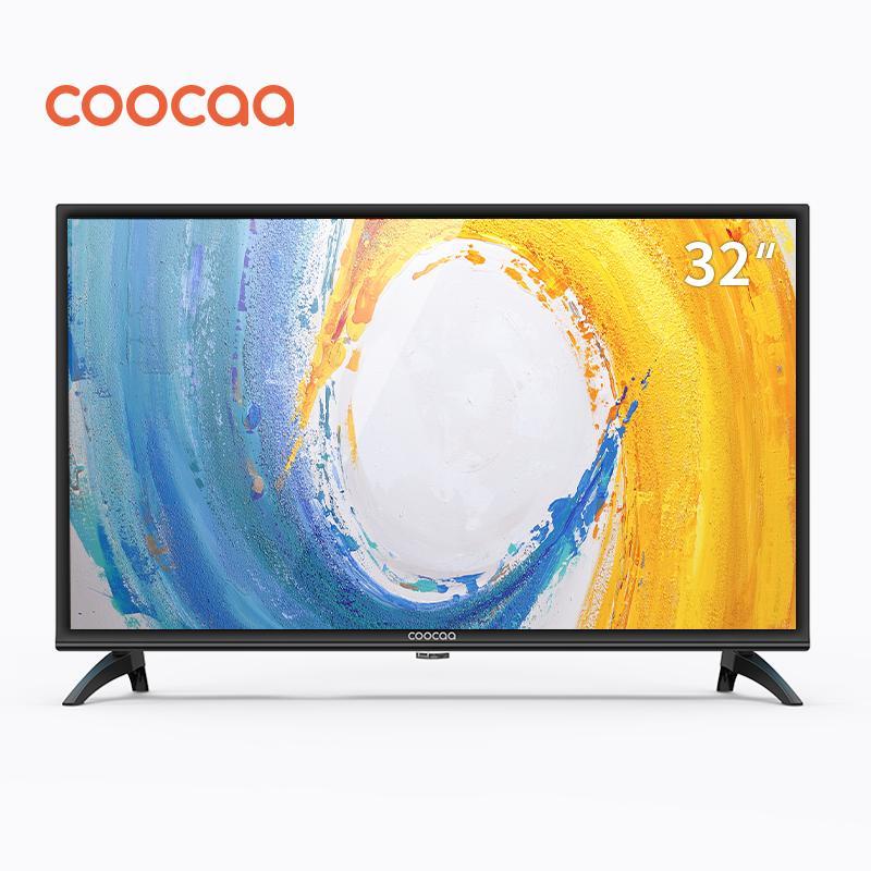 5ff97ed47 COOCAA 32 Inch HD LED TV Panel black - Slim-USB HDMI (Model