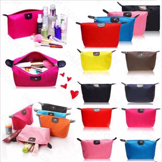 90560a39c734 D&H Store Grace Korean Fashion Travel Make Up Waterproof Pouch Purse  Organizer Bag