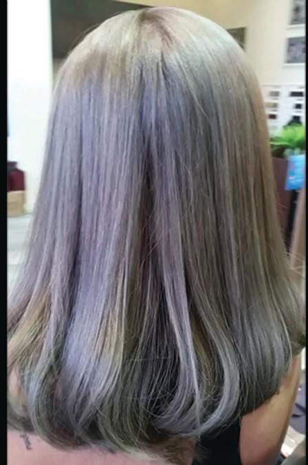 Hair Color Set With Bleaching Session & Hair Toner By 91.
