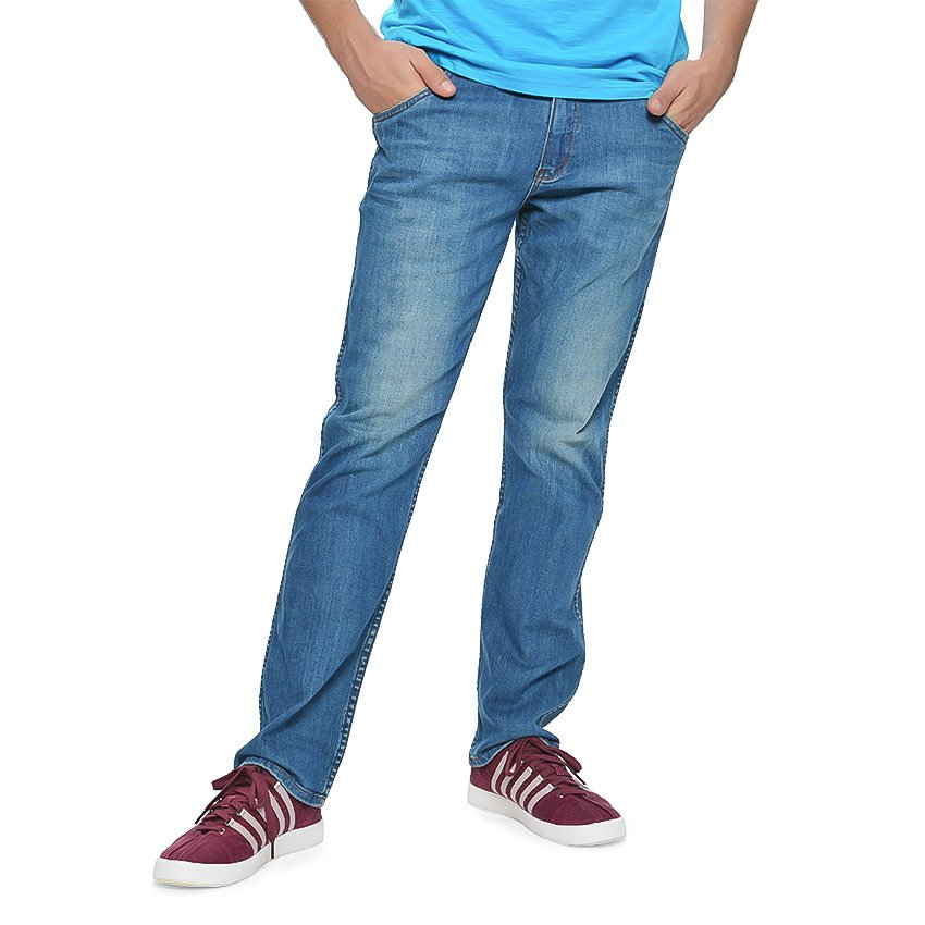 Wrangler Men's Crank Denim Pants (Dusk Leaded) product preview, discount at cheapest price