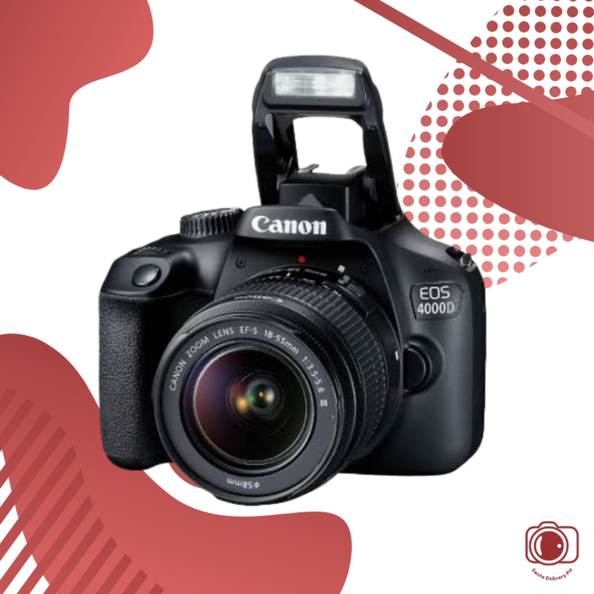 Canon Eos 4000d Dslr Camera With Ef S 18 55 Mm F 3 5 5 6 Iii Lens Brand New With 1 Year Warranty Seller From Philippines So Any Warranty Issues Are Easier Than Buying From A