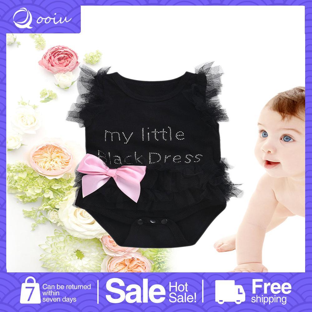 feddc956e9fcc Qooiu TOP Newborn Kids Baby Girl Infant Cute Romper Jumpsuit Bodysuit Tutu  Dress Clothes Outfit
