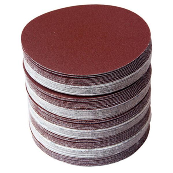 30pcs/set 5inch 125mm Round sandpaper Disk Sand Sheets Grit 80/100/120/180/240/320 Hook and Loop Sanding Disc for Sander Grits