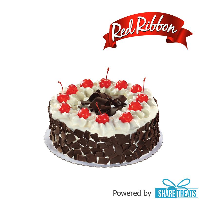 Red Ribbon Black Forest Cake Jr (sms Evoucher) By Share Treats.