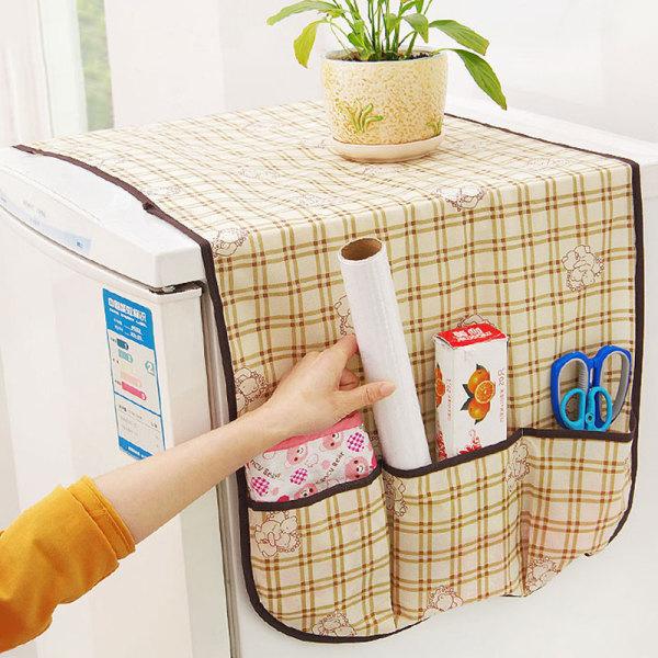 Bảng giá Vải không dệt đa năng tủ lạnh che bụi tủ lạnh lưới che tủ lạnh túi lưu trữ đa chức năng Nhà sáng tạo Điện máy Pico