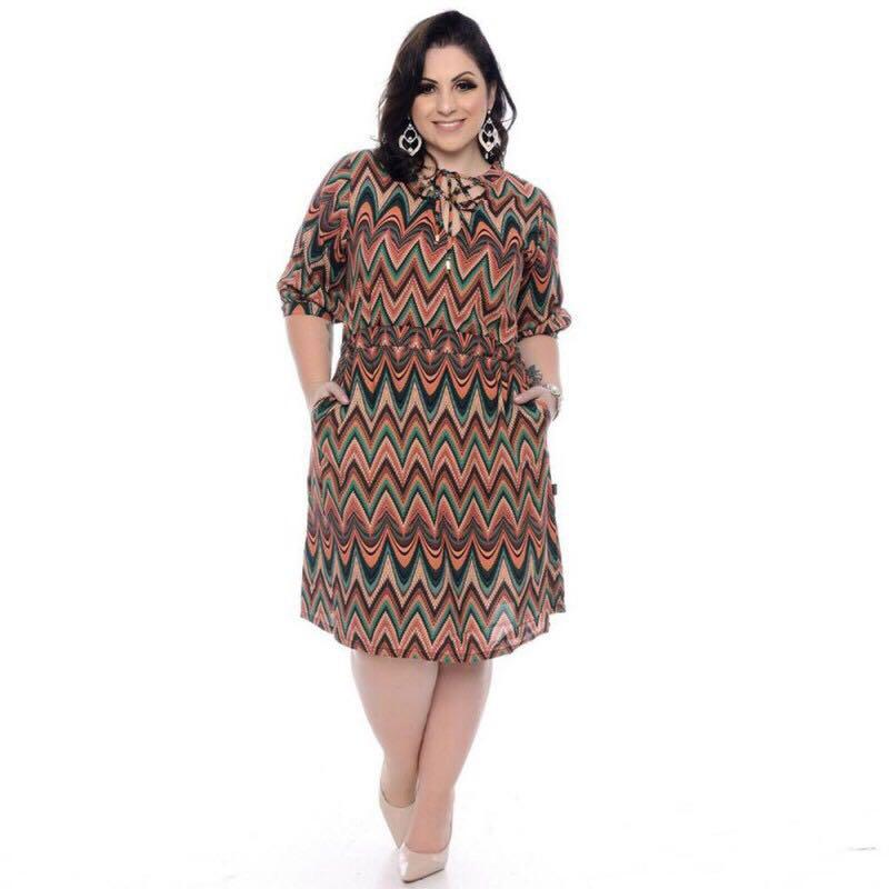 28229772bbb5f Sebrina store fashion retro style plus size dress for women short sleeve vintage  dress Free size