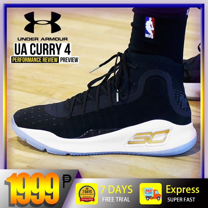 new concept 4fd9d b2ce7 Curry 4 Shoes for Men BAsketball shoes NBA Golden State Warriors  Championship 30  Stephen Curry