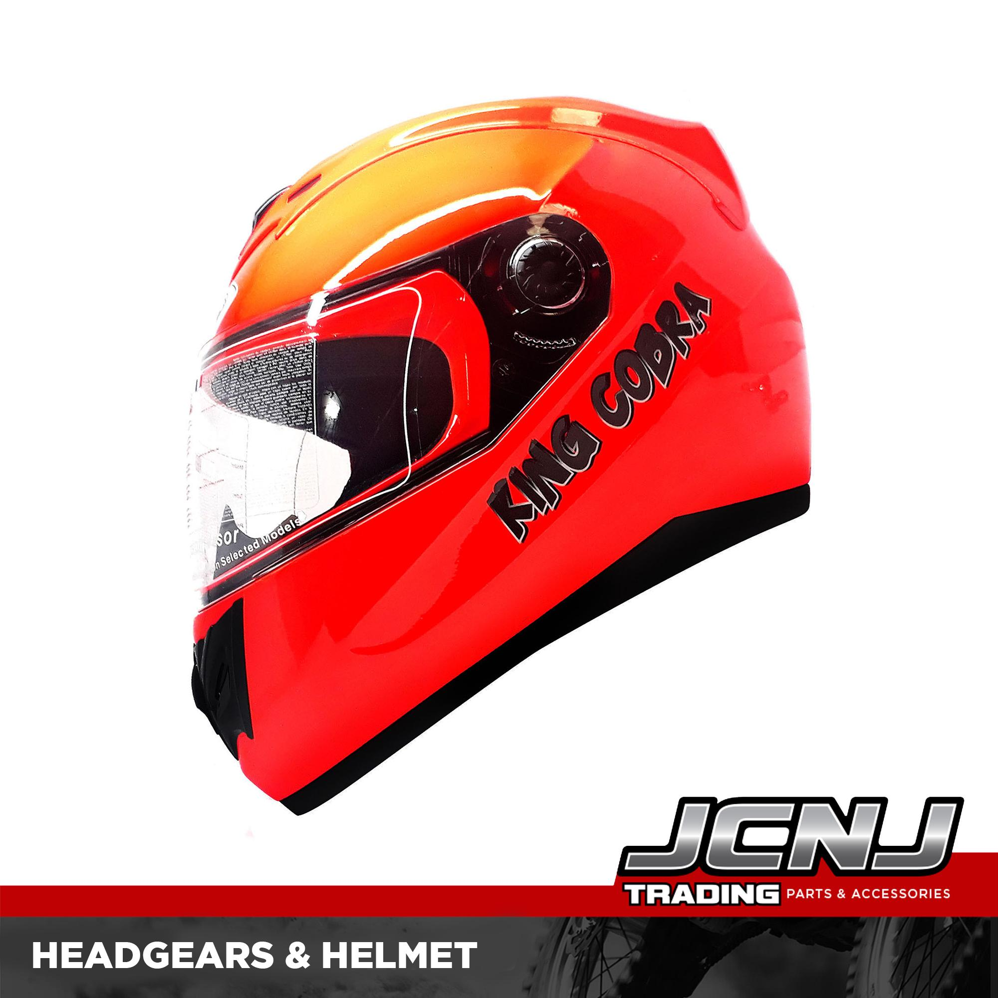 324496a939c6 KING COBRA K-691 A LARGE Full Face Helmet Motorcycle