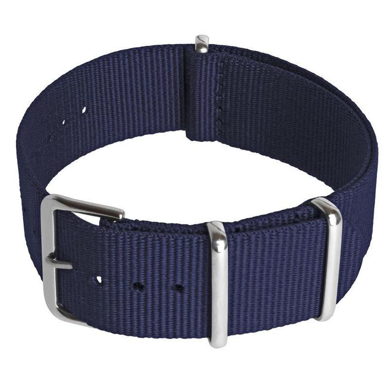 Nato Watch Strap Nylon Men Wrist 18mm 20mm 22mm Smart Military Pin Straps Zulu Z0B1 Malaysia