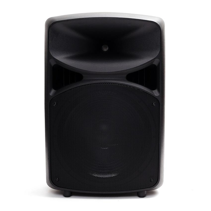 63ed34636 MICKLE MPRO-15A PROFESSIONAL ACTIVE SPEAKER 2 CHANNEL WITH USB BLUETOOTH  BLACK