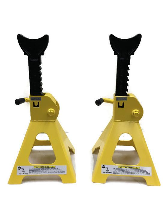 Dax Heavy Duty Jack Stand 3 Tons ( 2 Pcs.) By Tool Time Center.