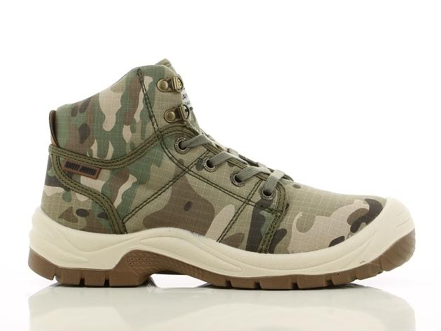 Safety Jogger Desert Steel Toe Cap and Steel Midsole Safety Shoes  (MULTI-COLOR) cedb1ff985