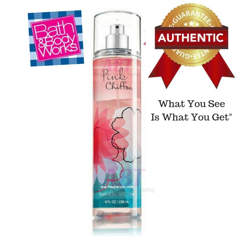 PINK CHIFFON BATH and BODY WORKS Signature Collection  Fragrance Mist 8 fl oz / 236 mL (FS)