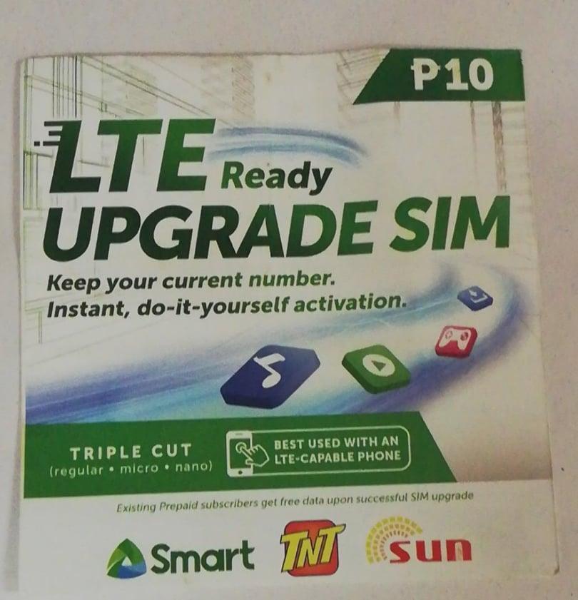 BPM Smart DSA (LTE UPGRADE SIM)