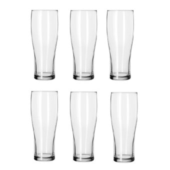 16oz Glass Tumbler MH-01 Set of 6 (Clear) - picture 2
