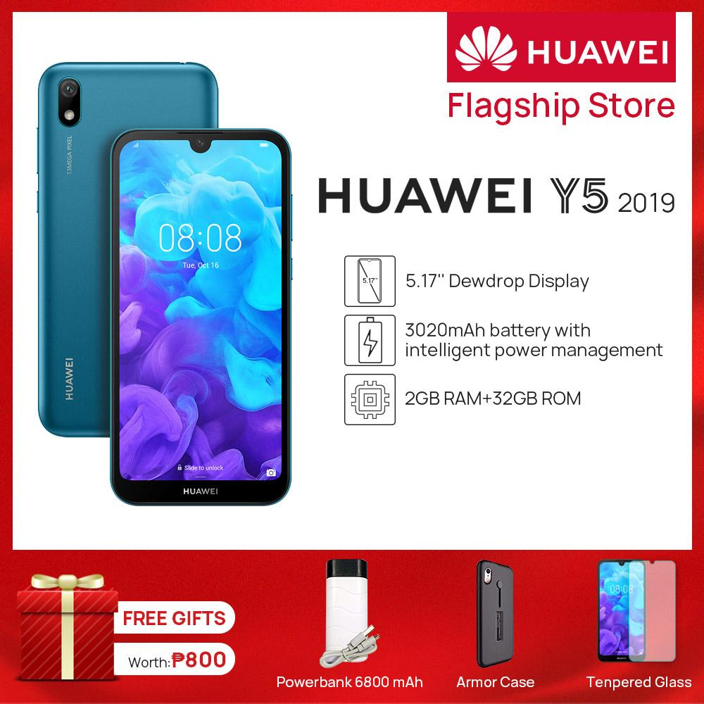 Huawei Y5 2019 Android 9 System 5 71-inch HD+ Screen Smart Phone