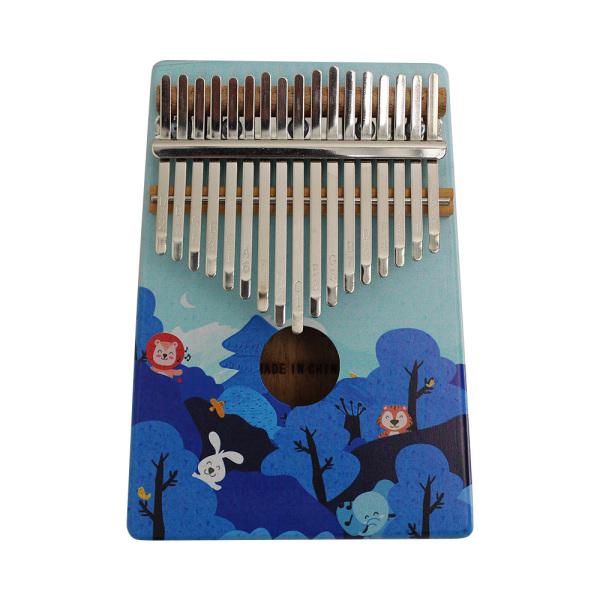 Kalimba Gỗ Cầm Tay 17 Phím Đàn Piano Ngón Tay Cái Mbira Với Bản Vẽ Màu Nhạc Cụ Quà Tặng Cho Những Người Yêu Âm Nhạc Học Sinh Mới Bắt Đầu