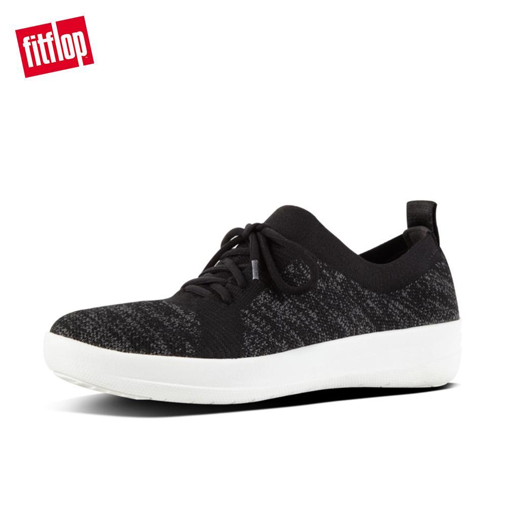 a92917cbd FitFlop Women s Shoes L39 F-Sporty Uberknit Sneakers Lightweight Ergonomic  Comfortable Flats
