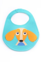 Oops Soft Bib-Happy (Green/Orange)