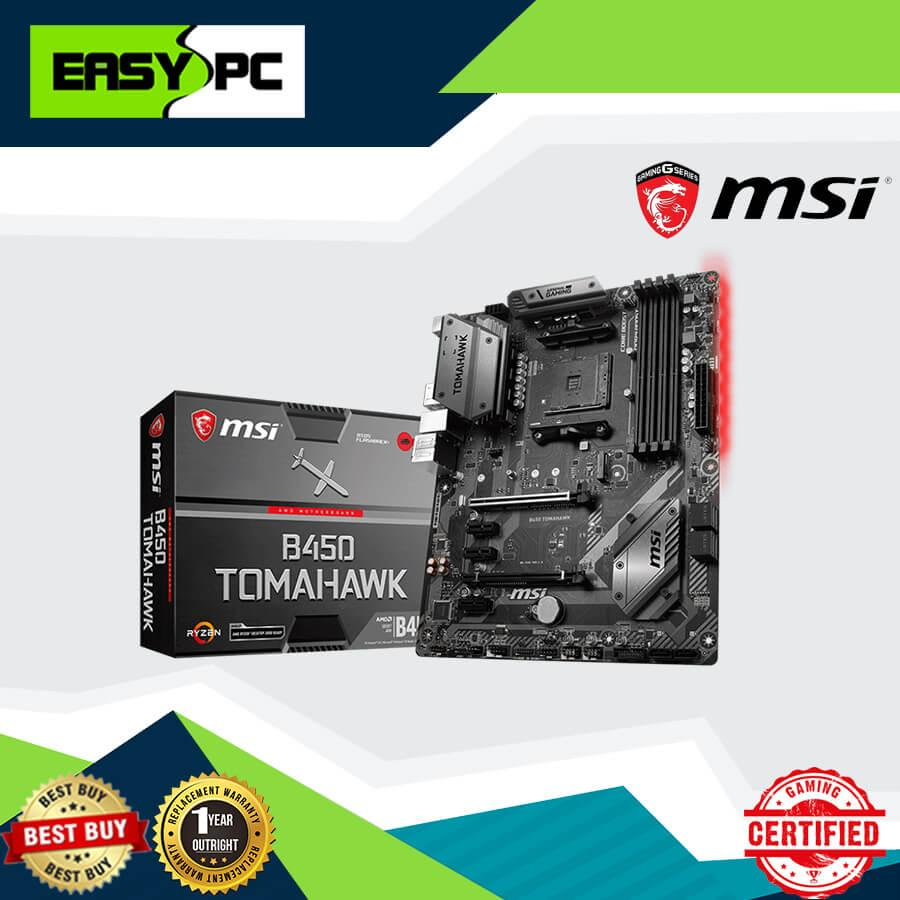 Msi B450 Tomahawk Red Light