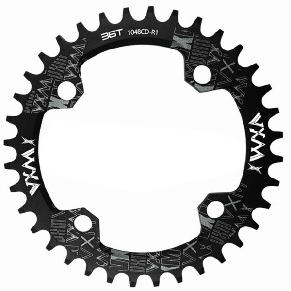 Mua Vxm Bicycle 104Bcd Crank Wheel 36T Narrow and Wide Sprocket Mtb Bicycle Sprocket Disc Mountain Bike