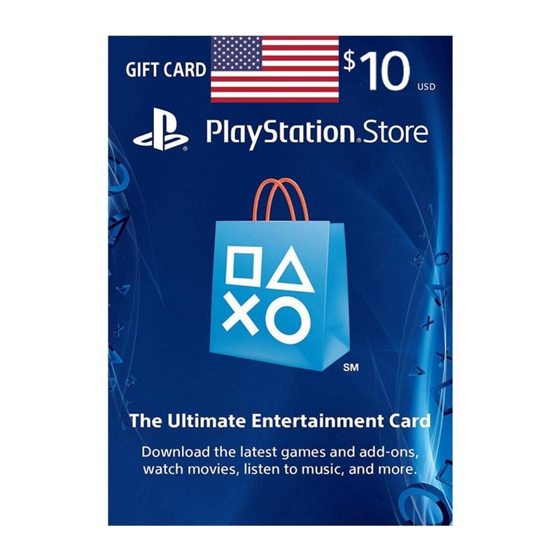 PSN USD - PSN 10 USA (US) R1 Credits DIGITAL CODE - FAST Email Delivery