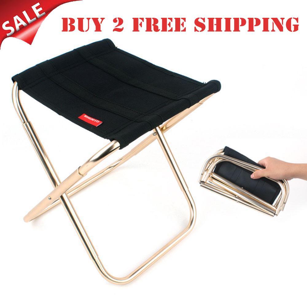 fb22fcf1f89b Folding Chair 420D Nylon 7075 Aluminum Alloy Camping Chair Portable