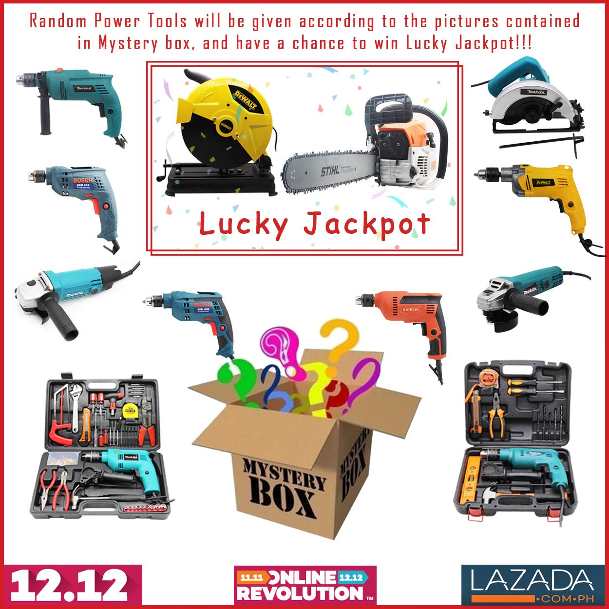 Kings Power Tools Mystery Box Philippines