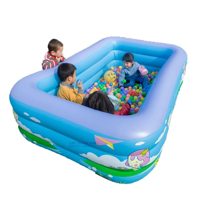 Cee8 Inflatable Swimming Pool For Kids Baby Children(130x92x52cm) By Cee8 Shop.
