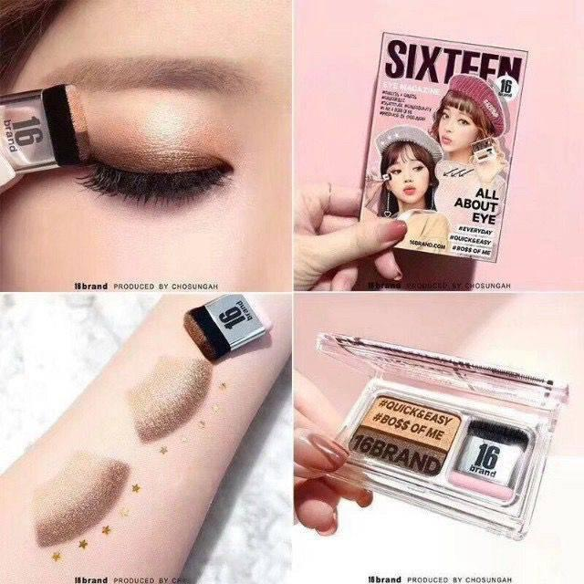 Sixteen Eye Magazine Instant Eyeshadow Makeup Philippines