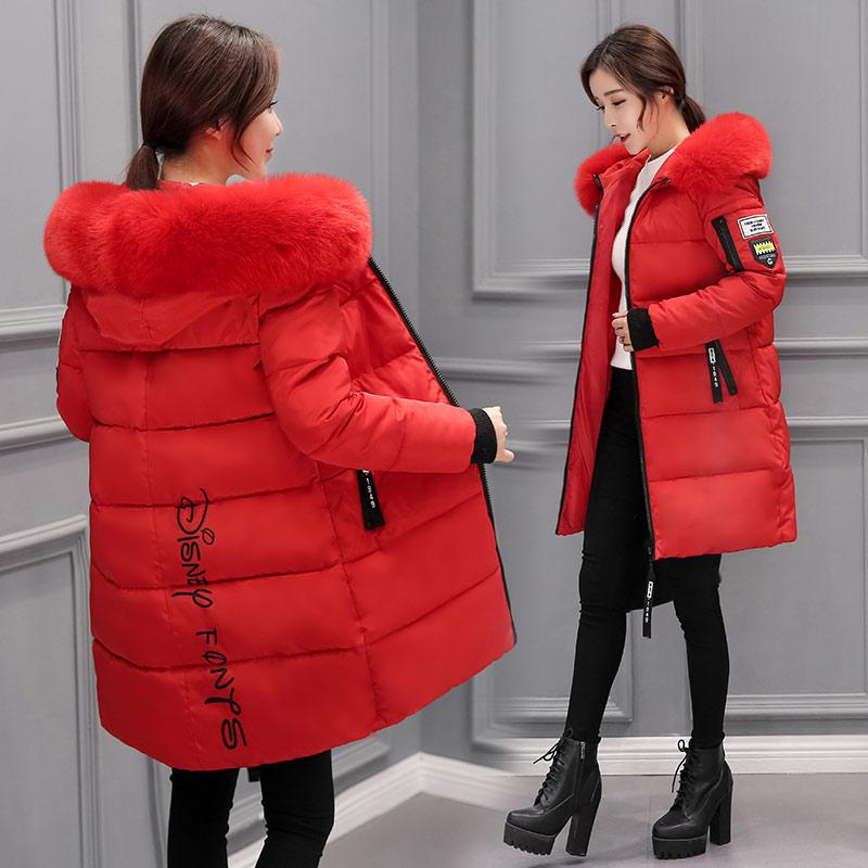 a9f65e6978e66 Off Season Cotton Coat women Winter Coat Fashion Sweet Winter Cotton-padded  Clothes Cotton Coat