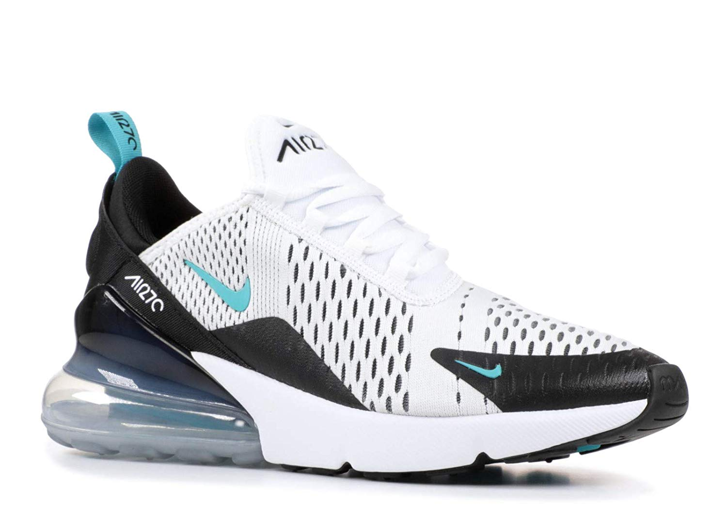 NIKE AIR MAX 270 CLASS A RUNNING SHOES (White Green) FOR MEN AND WOMEN SIZE(36 45)