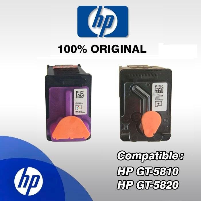 Genuine HP Deskjet Printhead For Ink Tank 310 315 410 415 110 115 116 118  119 GT5810 GT5820 Head Print Cartridge - Choose BLACK or TRI-COLOR