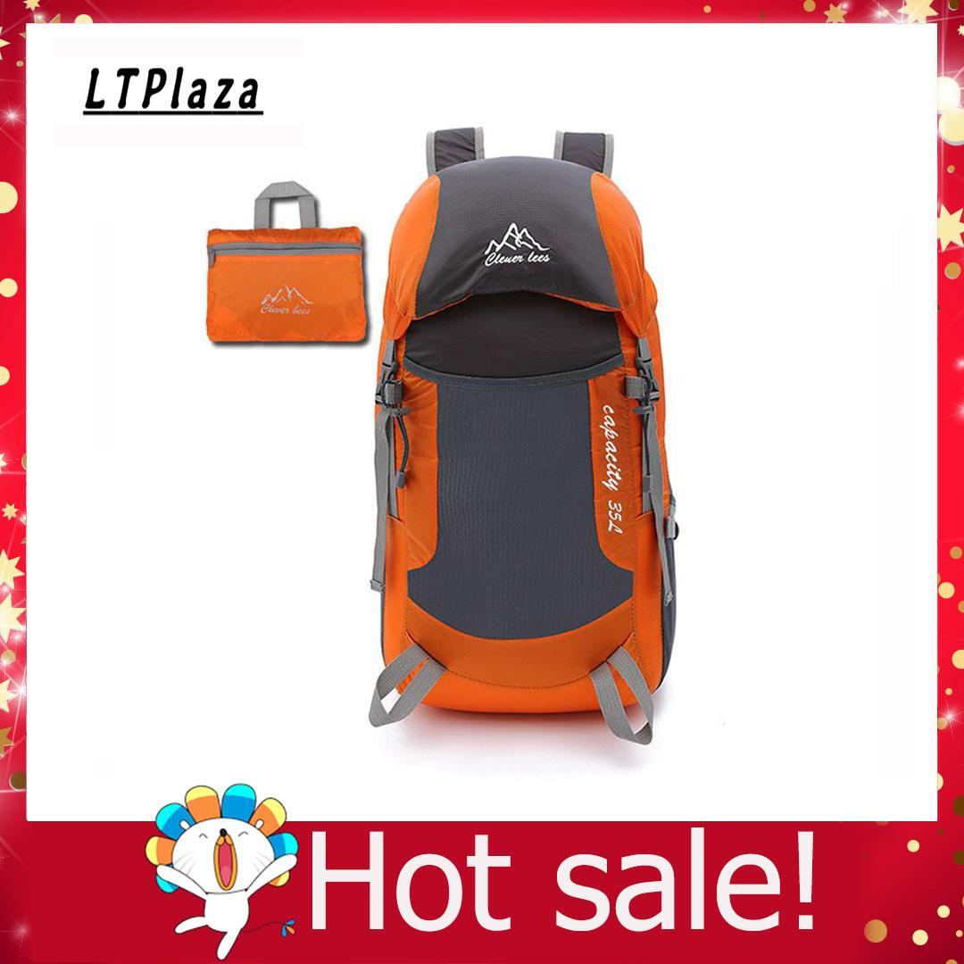 Packable Backpack, Durable Lightweight Water Resistant Travel Hiking Daypack 20-35l Foldable Camping Bag For Men & Women By Ltplaza
