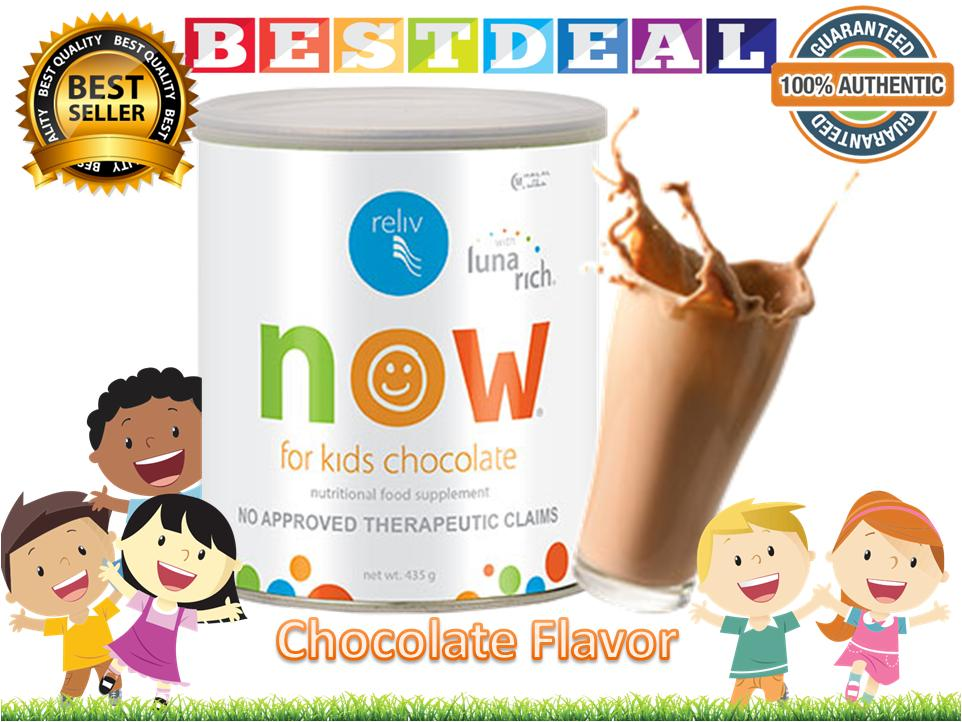 Relive For Kids Now (chocolate Flavor) 100% Authentic By Bestdeal O-Shopping.