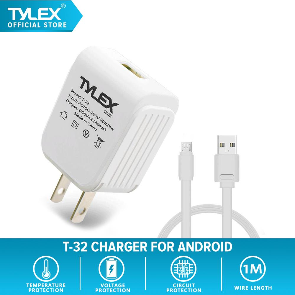 Tylex T-32 2 1A Quick Charge Travel Charger for Android