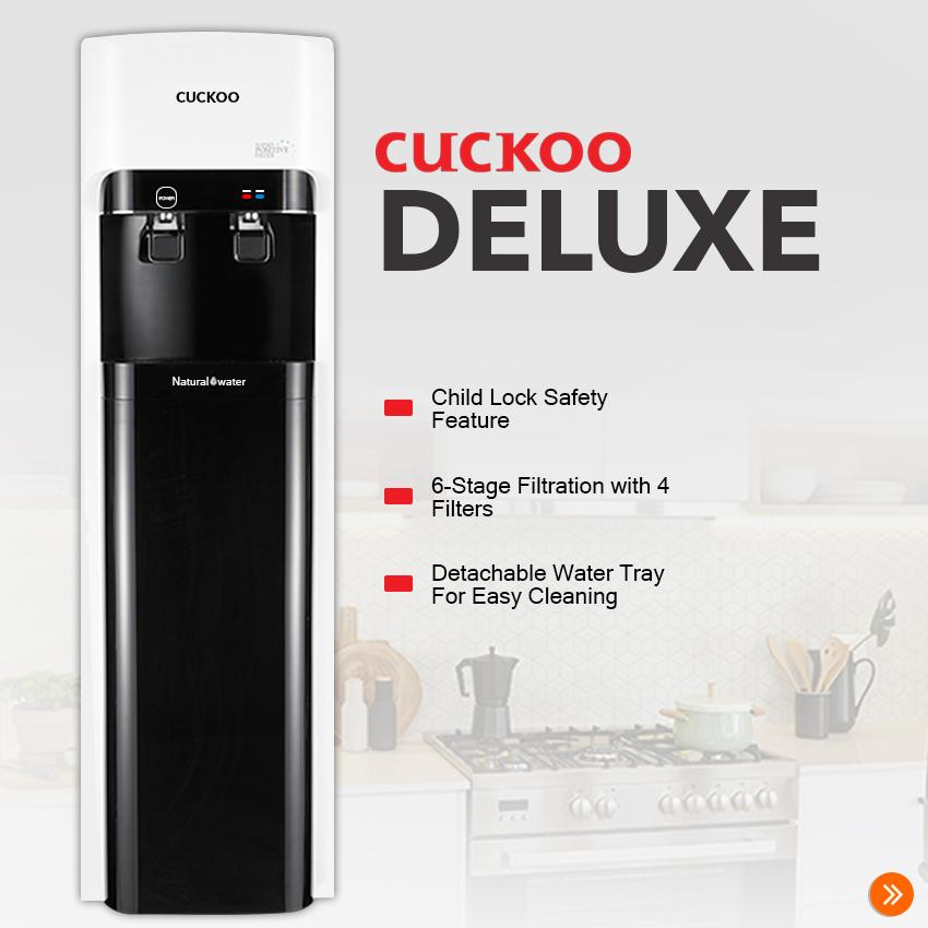 b70b309794e6 CUCKOO Deluxe Water Purifier Hot & Cold with 6-Stage Filtration System