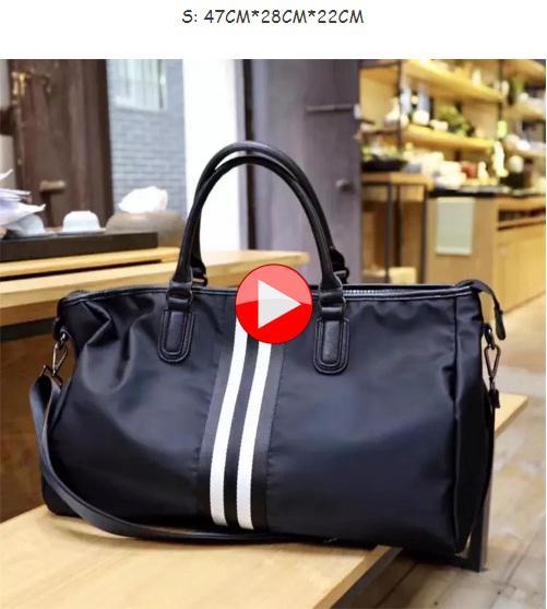 1ac5f2ea7163 Abby Shi 2404 New Fashion Korean Style Bags Large Capacity Oxford Luggage  Handbag Travel Shoulder Bags