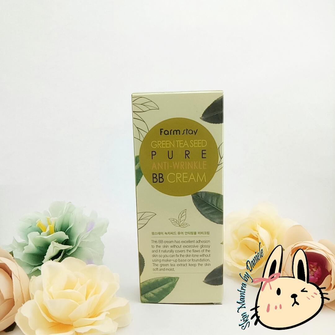FARM STAY Green Tea Seed Pure Anti-Wrinkle BB Cream 40g