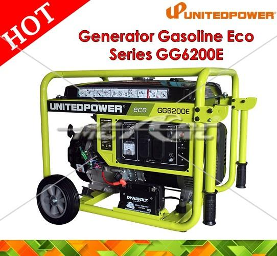 United Power Generator Gasoline Eco Series GG6200E