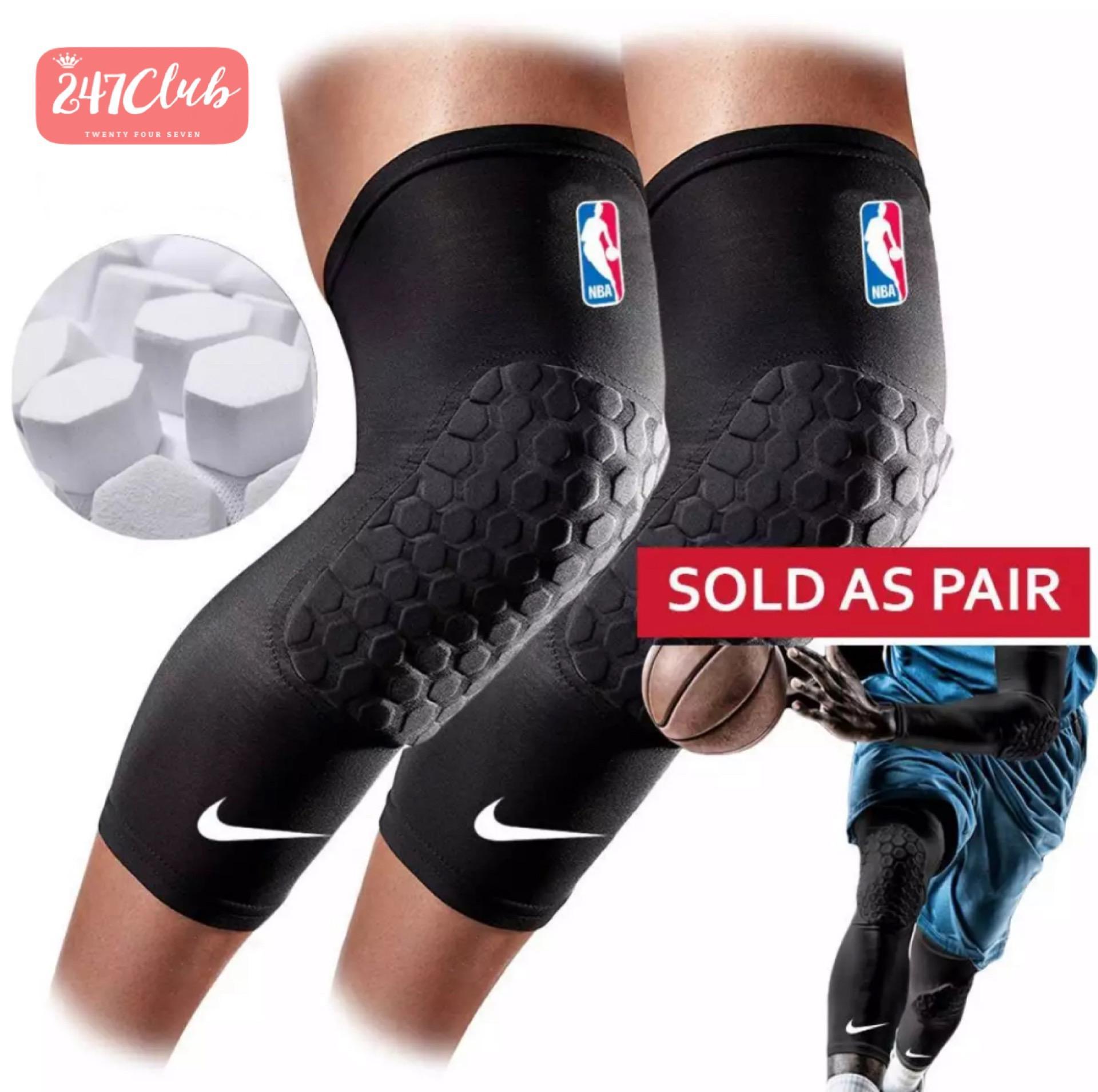 247 2pcs Nikes Padded Leg Sleeves - Knee Pad By 247shop.