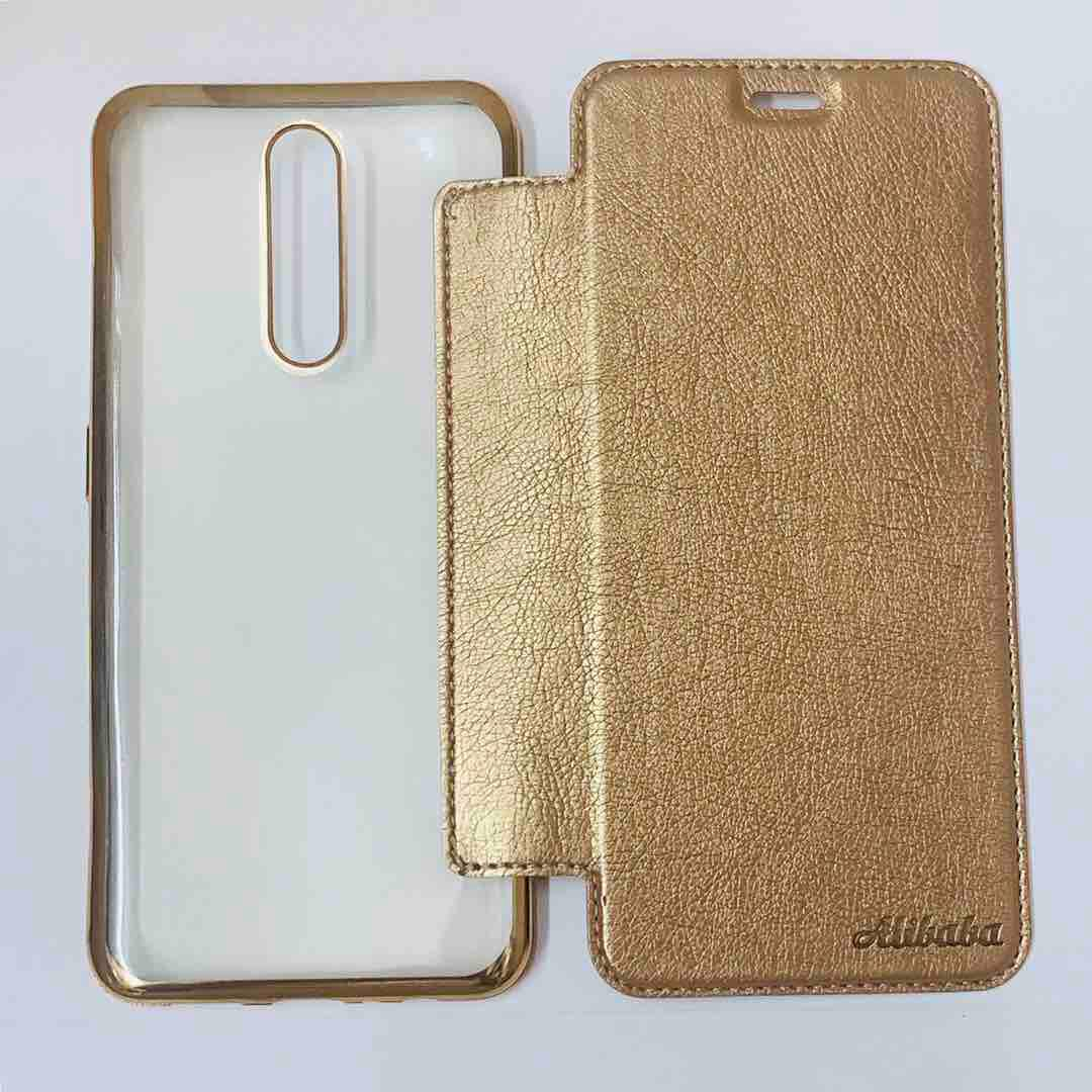 Oppo F11 Slim Soft TPU Back Case With Flip Cover