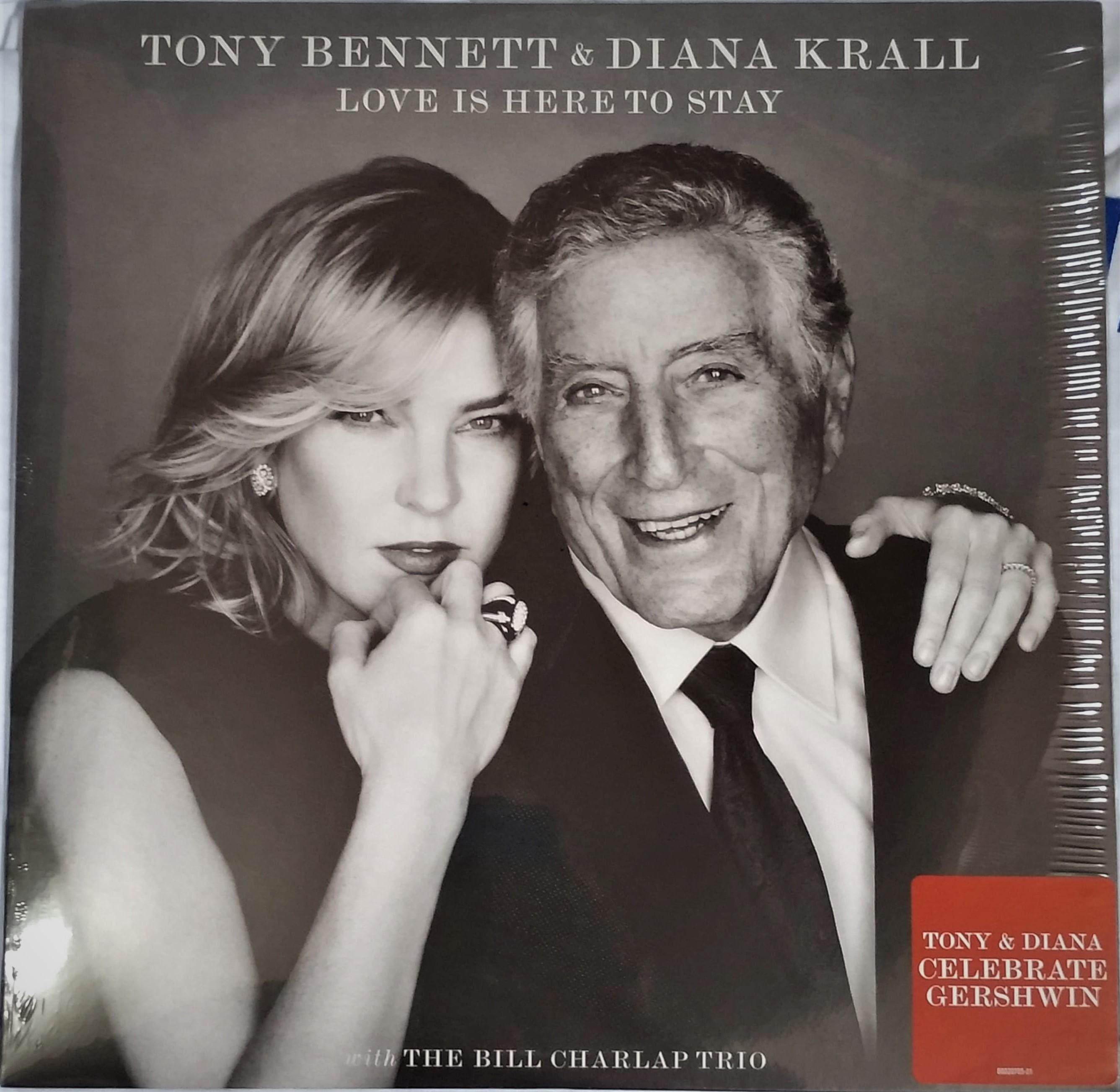 Love Is Here To Stay By Tony Bennett / Diana Krall Vinyl Lp By Hobbies N Stuff.