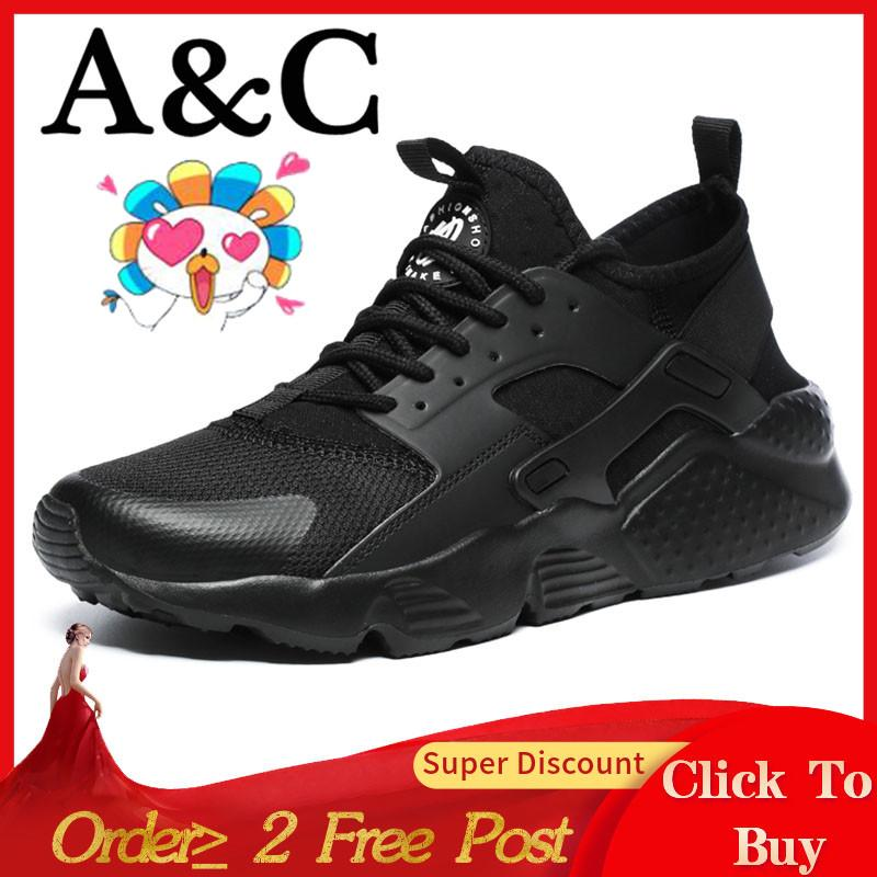 923d0efe2444 A C Sneakers Running Shoes Fashion Casual Breathable Shoes Couple Shoes  Large Size And Llight Free