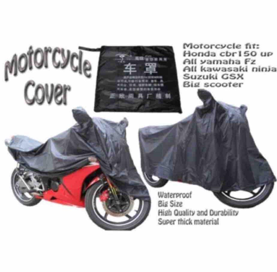 Motorcycle Cover Waterproof Big Size By Lucky Sunzest.