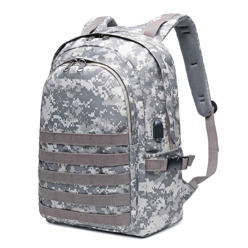6a847d14eb Jedi Survival Level Three the bag bags Eats Chicken Celebrity Style Backpack  man Waterproof Camouflage Backpack